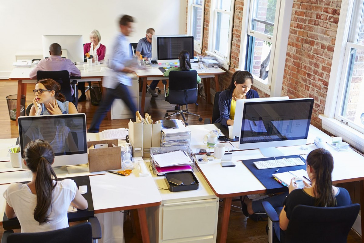 Open Office Plans: The Future of Work