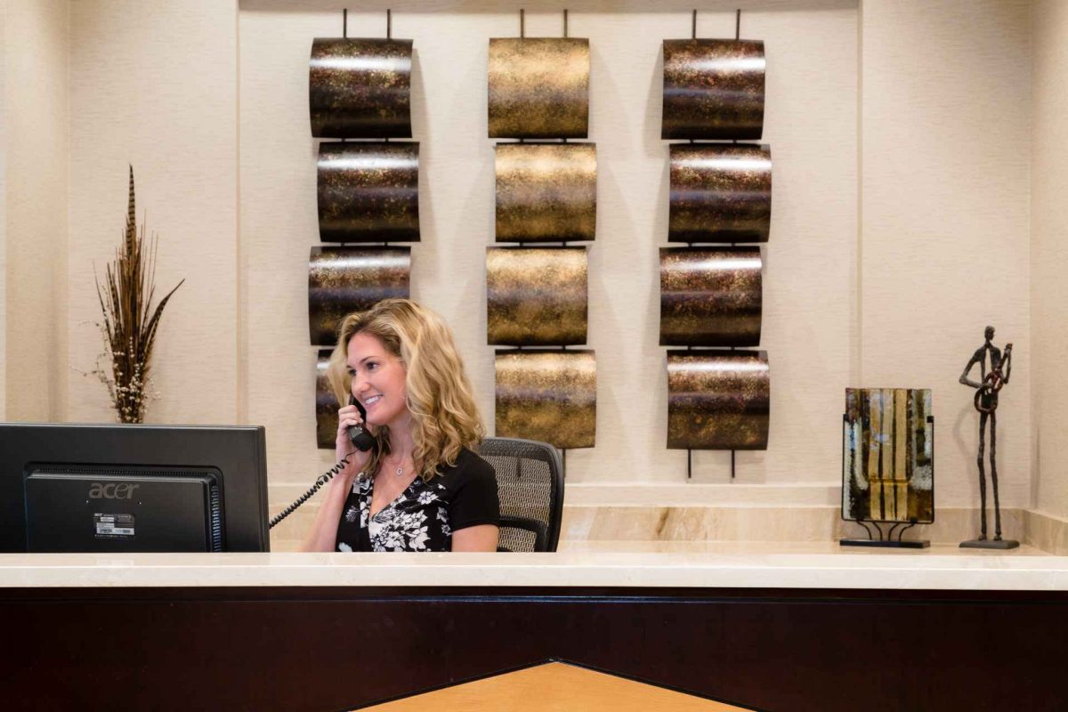 The Front Desk at NorthPoint Executive Suites in Alpharetta